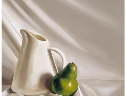 Pear with jug
